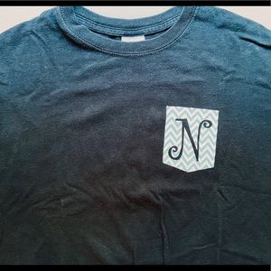 """N"" Short Sleeve T-Shirt"